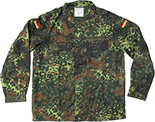 European Military New Unissued German Army Jacket Flecktarn Camouflage