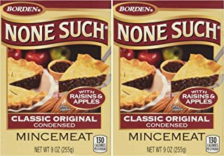 NONE SUCH classic original MINCEMEAT CONDENSED, 9 OZ pack of 2