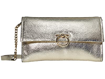 Rebecca Minkoff Jean Convertible Clutch (Champagne) Handbags
