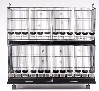 Taiyo Pluss Discovery Bird Cages for BREEDING for Finches and Canary, African Love Birds Budgies Lovebird Finches Model No...