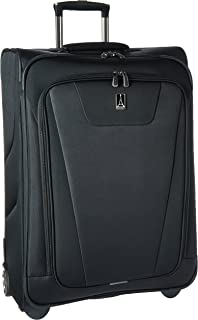 Maxlite 4 Expandable Rollaboard 26 inch Suitcase, Black
