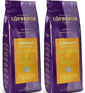 LÖFBERGS JUBILEUM Roast Level 3/5, Ground, 14.1oz/400g (Pack of 2)
