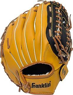 دستکش بیس بال ورزشی Franklin - دستکش بیس بال و دست راست و بیس بال و دست راست - دستکش دستباف بیس بال استاد چرمی