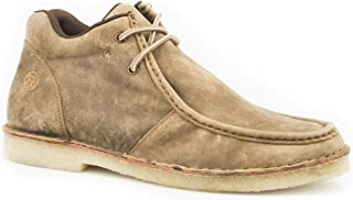Men's Arnold Lace Up Gum Sole Chukka Boot, Tan - 9.5