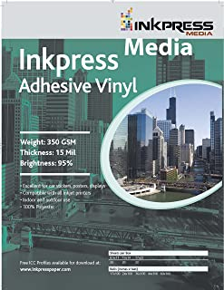 INKPRESS MEDIA 350 GSM, 15 Mil, 95 Percent Bright Paper (#AV851120)