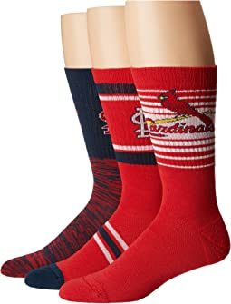 Stance Cardinals Team 3-Pack