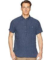 Todd Snyder - Short Sleeve Popover Stripe Shirt
