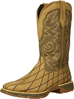 Durango Women's Lady Rebel Patchwork Western Boot Mid Calf