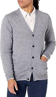 Goodthreads Men's Lightweight Merino Wool Cardigan Sweater