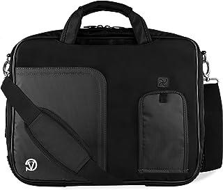 "Pindar Messenger Bag for 13-14"" Laptops- Macbook, Chromebook, Zenbook, ATIV Book, ProBook, ThinkPad, Razer Blade, & Other"