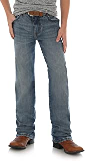 Wrangler Boys' Retro Slim Fit Straight Leg Jean, Callahan, 8 Husky