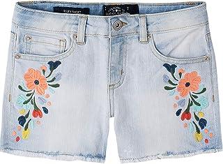 Lucky Brand Pantalones Cortos Vaqueros para niñas Short de Mezclilla para Niñas