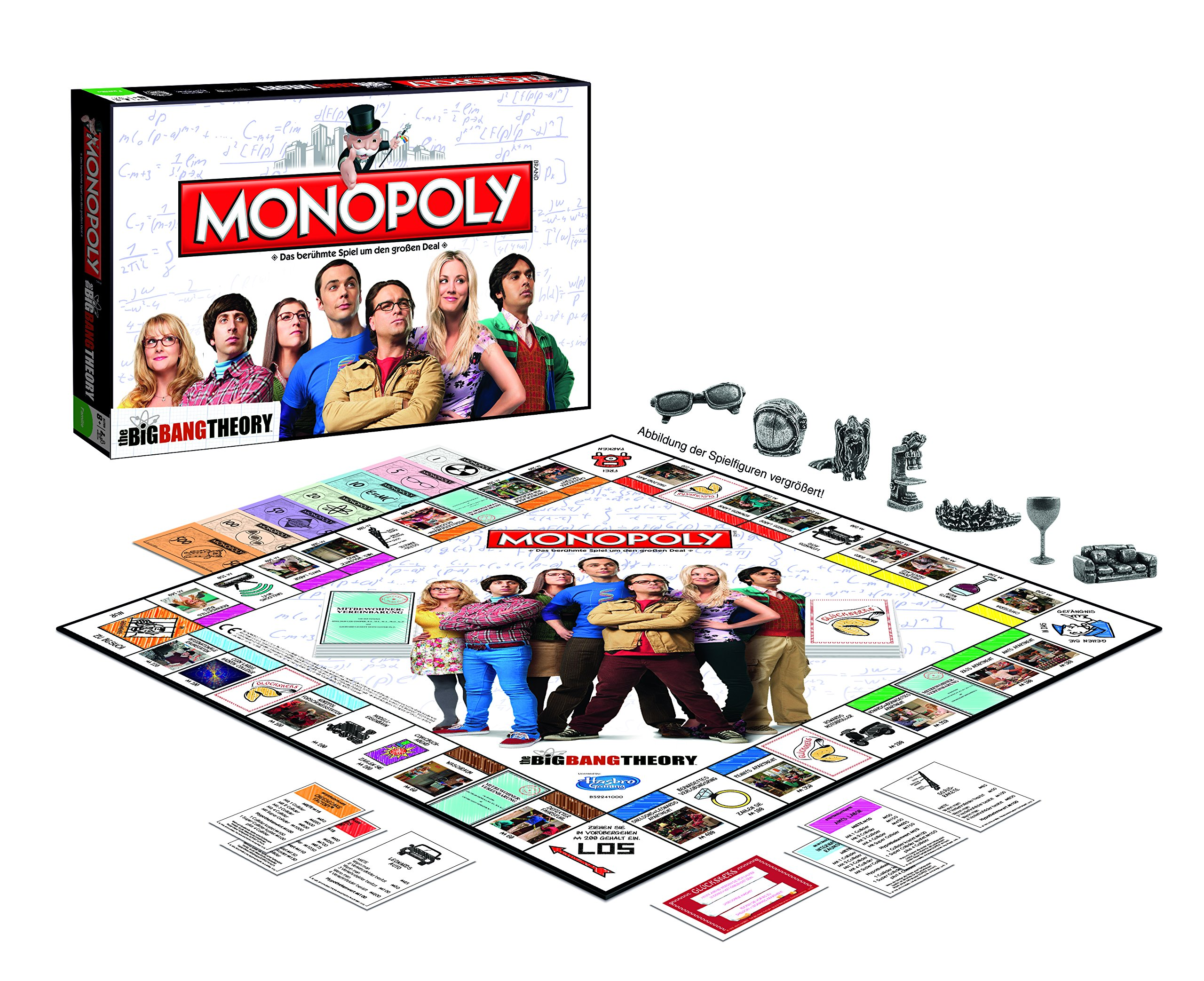 Winning Moves 44079 – Monopoly: The Big Bang Theory: Amazon.es: Juguetes y juegos