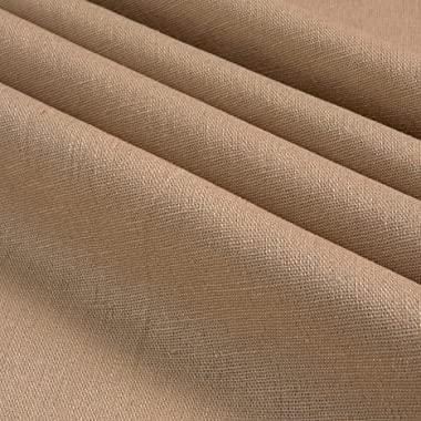 Stretch Linen Natural Fabric by the Yard