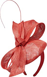Morgan & Taylor Women's Dahlia Fascinator, Red, One Size