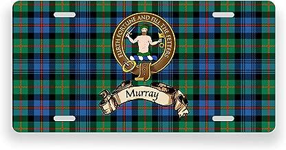 Murray Scotland Clan Atholl Tartan Novelty Auto Plate