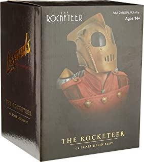 The Rocketeer Legends in 3-Dimensions 1:2 Scale Bust, Multicolor, 10 inches
