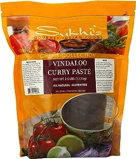 Sukhi's Gourmet Indian Foods Curry Paste, Vindaloo, 2.5 Pounds