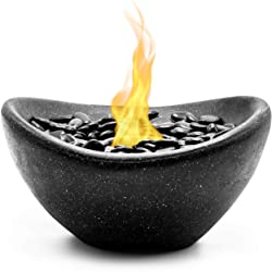 Vizayo Table Top Fire Pit Bowl for Outdoor