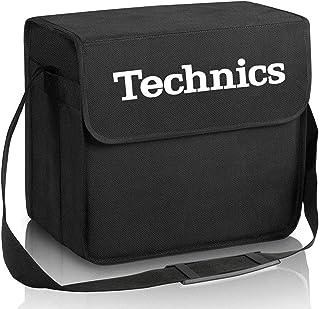 DJ-Bag NEGRA para transportar 50/60 vinilos