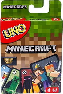 Mattel - Card Games - UNO Minecraft