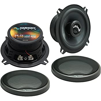 Compatible with BMW 3 Series 1999-2001 Rear Deck Factory Replacement Speaker Harmony HA-R4 Speakers