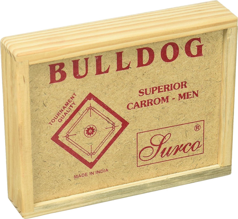 Surco Bulldog Tournament Quality Carrom Coins Set
