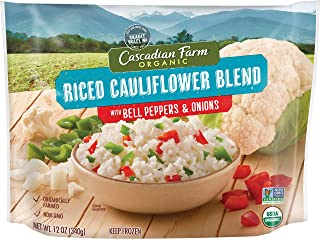Cascadian Farm Riced Cauliflower Blend with Bell Peppers & Onion, 12 oz(us)