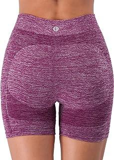 "RUNNING GIRL 5"" Butt Lifting Yoga Shorts for Women, 3Pack High Waist Running Active Bike Shorts Tummy Control"