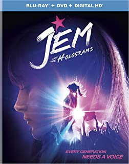 Jem and the Holograms Blu-ray + DVD + Digital