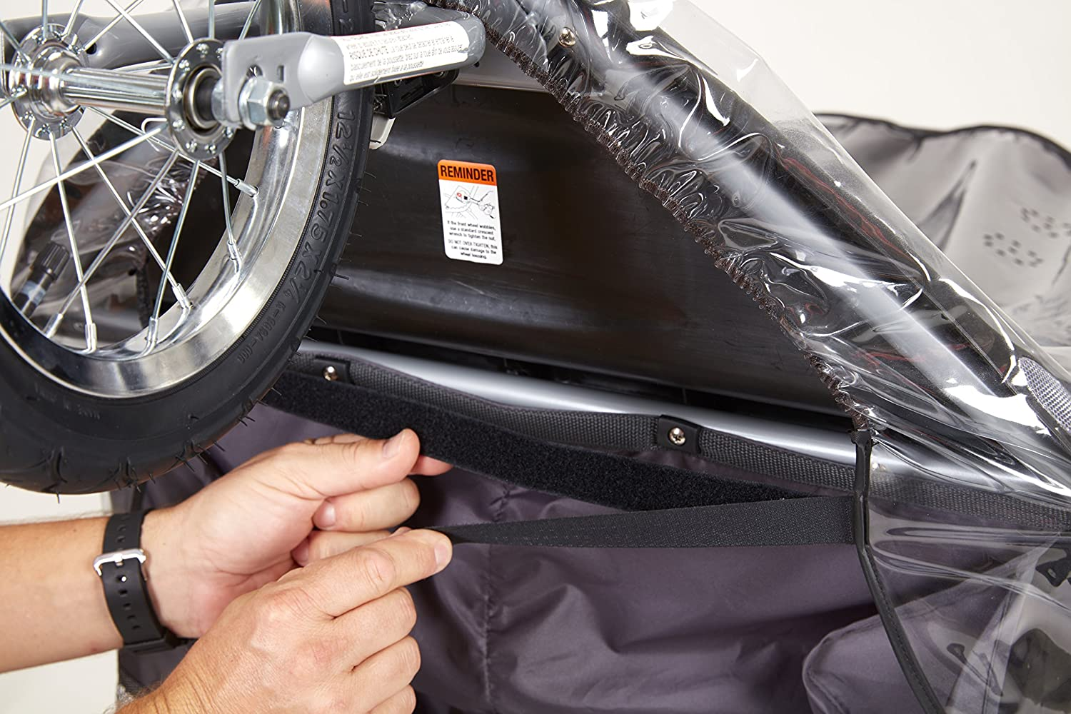 Sashas Rain and Wind Cover For the Graco 'FastAction Fold Click Connect' Jogger Stroller