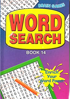 WF Graham Wordsearch Book - Assorted