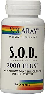 Solaray S.O.D. 2000 Plus, 400 mg, 100 Count
