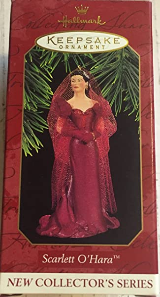 Hallmark Ornament Scarlett O Hara Gone With The Wind 1 In Scarlet Ohara Series 1997