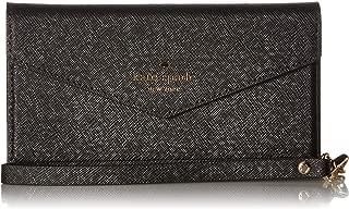 Kate Spade New York Envelope Wristlet Phone Case for iPhone 7 Cellphone Case Black