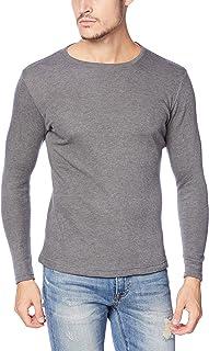 [ヘインズ] あったかインナー 防寒着 フリース素材 厚手インナーシャツ 長袖 暖かい 起毛 ウォームTシャツ 丸首 メンズ HM4-Q508A