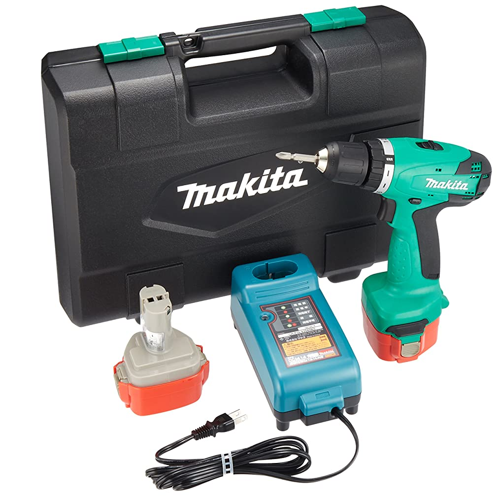 独裁者愛でもマキタ(Makita)  充電式ドライバドリル 12V バッテリー2個付き M655DWX