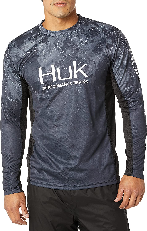 Huk Men's Icon X Regular store Camo Long Shirt Fishing Sleeve High material Performance Sub