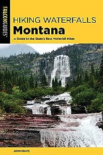 waterfalls in montana map