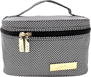 JuJuBe Travel Make-Up + Cosmetic Bag   Legacy Collection, Be Ready   The Queen of The Nile - Black + White Chevron