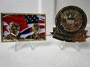 2 Presidential Challenge Coins Donald Trump White House Trump Kim Jong Un Singapore Summit