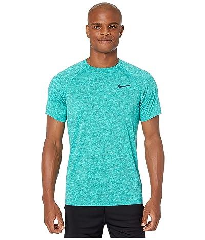 Nike Heather Short Sleeve Hydroguard (Spirit Teal) Men