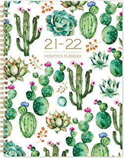 "2021-2022 Monthly Planner - 18 Months Monthly Calendar/Planner 2021-2022 with Tabs, 9"" x 11"", Jan 2021 - Jun 2022, 13 Note..."