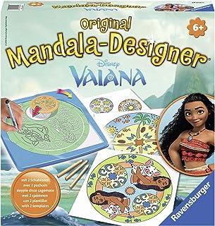 Ravensburger – Mandala – Midi – Disney Vaiana – Loisir créatif – Dessin – Enfant dès 6 ans – 29842