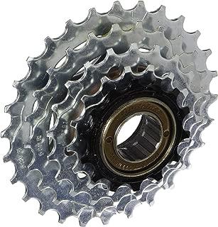 Sunrace 7-Speed Freewheel, Silver, 13-28
