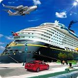 City Cargo Transporter Tycoon Ship Simulator 3D: Camion de transporteur Euro réel Conduite de jeu d'aventure de simulation de stationnement