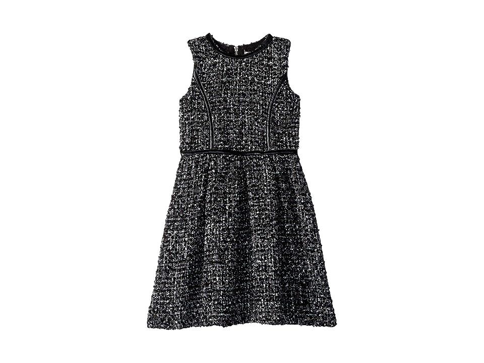Us Angels Boucle Dress (Big Kids) (Black) Girl
