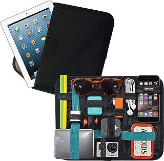 "Cocoon CPG46BKT 11"" GRID-IT!® Tablet Pocket Organizer (Black/Teal)"