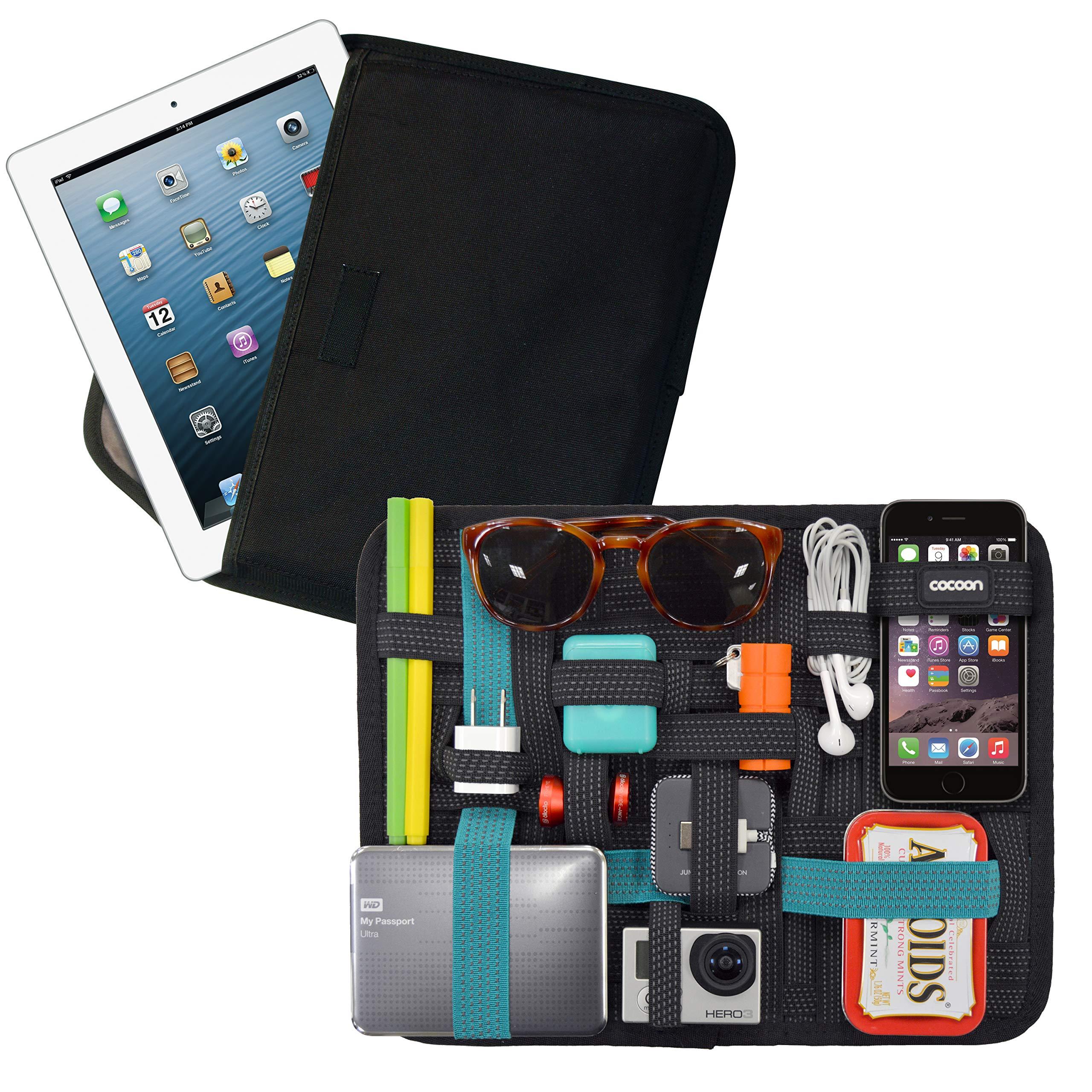 COCOON GRID-IT iPad及9-11英寸平板 超级本 内胆包 数码便携整理收纳板包 环保织物弹道尼龙 黑色