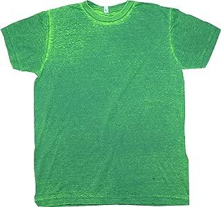 green acid wash t shirt